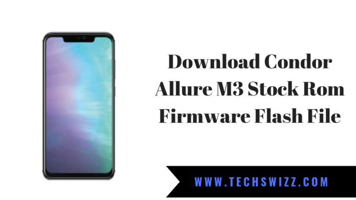 Download Condor Allure M3 Stock Rom Firmware Flash File