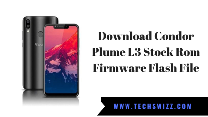 Download Condor Plume L3 Stock Rom Firmware Flash File