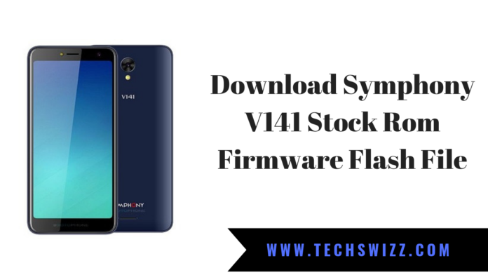 Download Symphony V141 Stock Rom Firmware Flash File