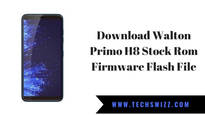 Download Walton Primo H8 Stock Rom Firmware Flash File
