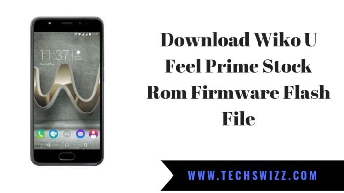 Download Wiko U Feel Prime Stock Rom Firmware Flash File