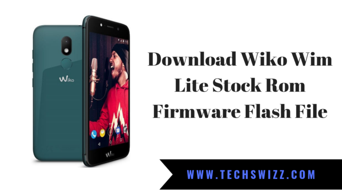 Download Wiko Wim Lite Stock Rom Firmware Flash File