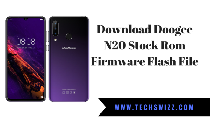 Download Doogee N20 Stock Rom Firmware Flash File