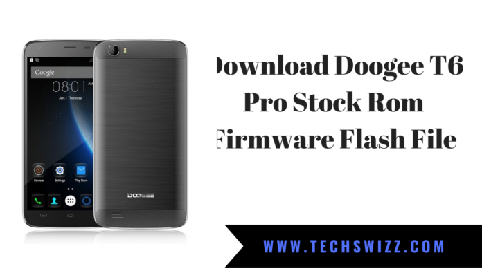 Download Doogee T6 Pro Stock Rom Firmware Flash File