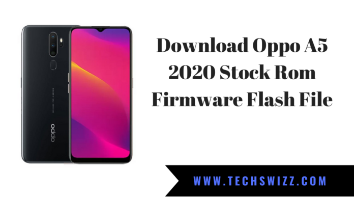 Download Oppo A5 2020 Stock Rom Firmware Flash File