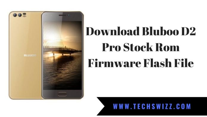 Download Bluboo D2 Pro Stock Rom Firmware Flash File