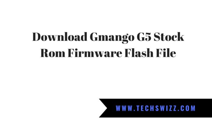 Download Gmango G5 Stock Rom Firmware Flash File