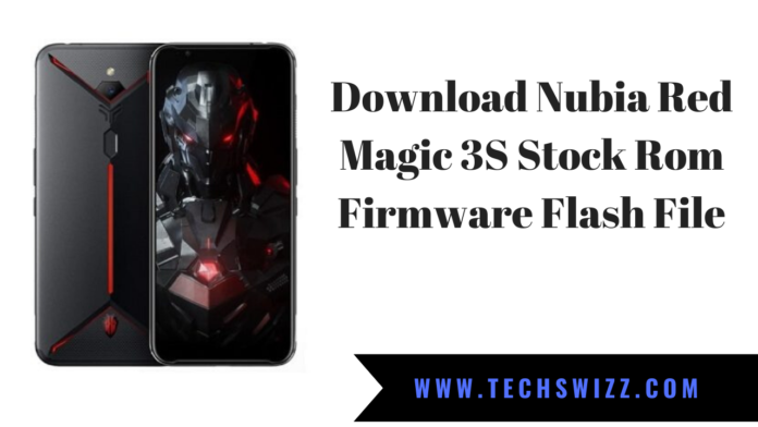 Download Nubia Red Magic 3S Stock Rom Firmware Flash File