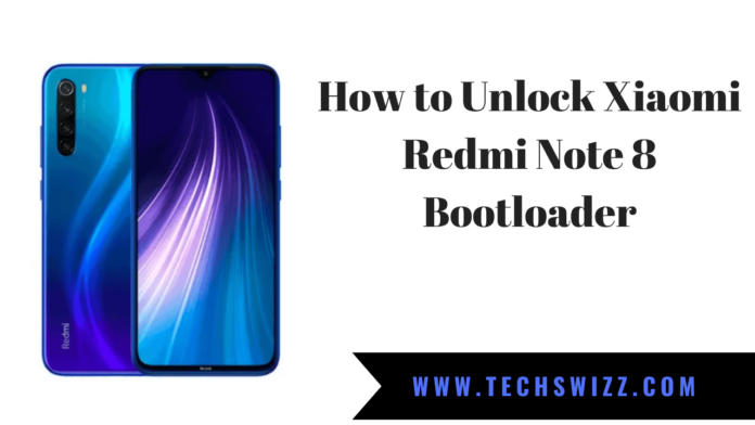 How to Unlock Xiaomi Redmi Note 8 Bootloader