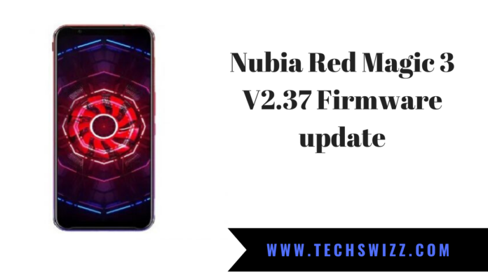 Nubia Red Magic 3 V2.37 Firmware update