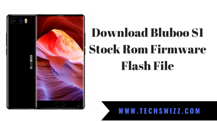 Download Bluboo S1 Stock Rom Firmware Flash File