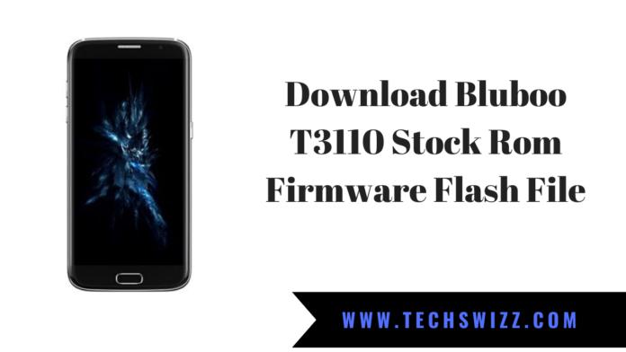 Download Bluboo T3110 Stock Rom Firmware Flash File