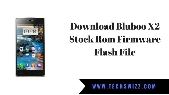 Download Bluboo X2 Stock Rom Firmware Flash File