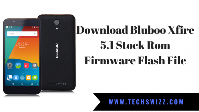 Download Bluboo Xfire 5.1 Stock Rom Firmware Flash File