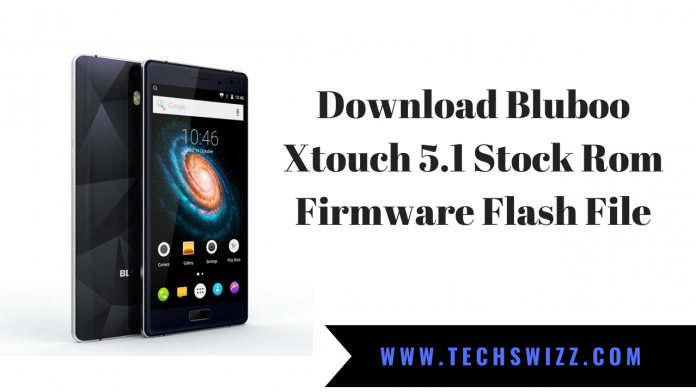 Download Bluboo Xtouch 5.1 Stock Rom Firmware Flash File