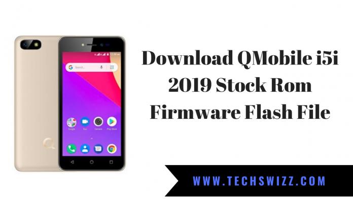 Download QMobile i5i 2019 Stock Rom Firmware Flash File