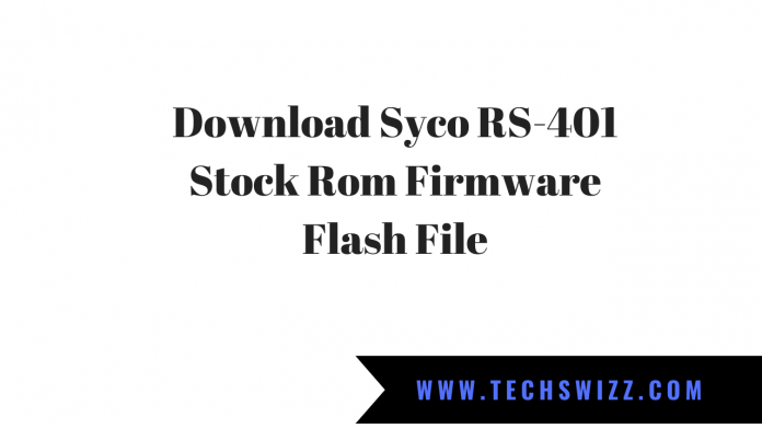 Download Syco RS-401 Stock Rom Firmware Flash File