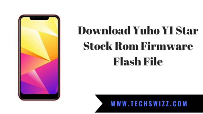 Download Yuho Y1 Star Stock Rom Firmware Flash File