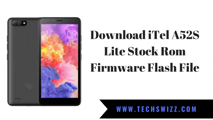 Download iTel A52 Lite Stock Rom Firmware Flash File