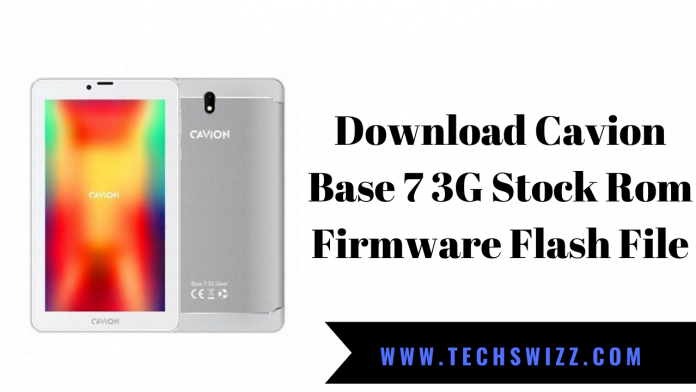 Download Cavion Base 7 3G Stock Rom Firmware Flash File
