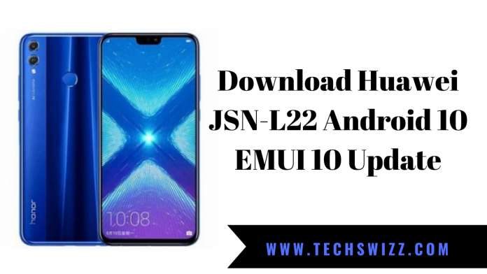 Download Huawei JSN-L22 Android 10 EMUI 10 Update