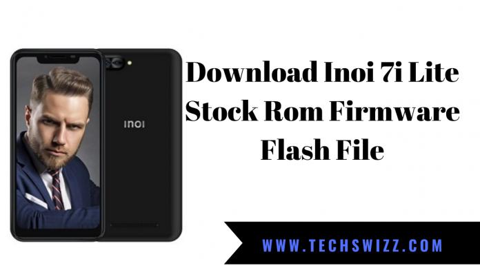 Download Inoi 7i Lite Stock Rom Firmware Flash File