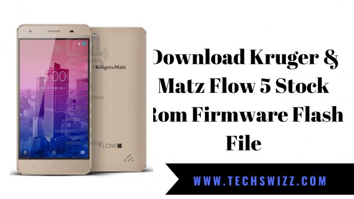 Download Kruger & Matz Flow 5 Stock Rom Firmware Flash File