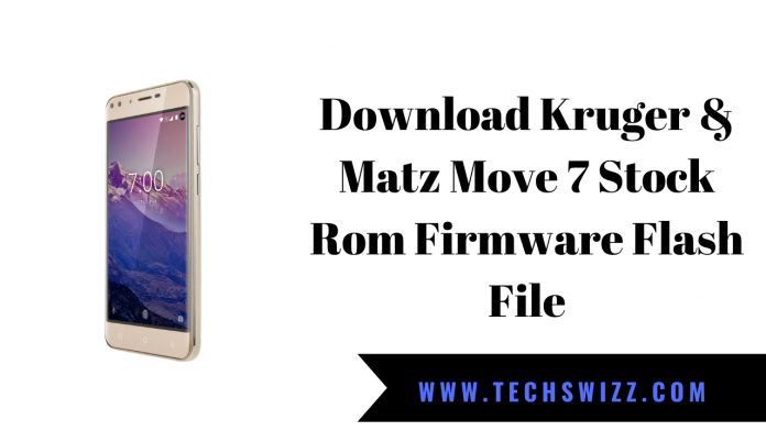 Download Kruger & Matz Move 7 Stock Rom Firmware Flash File