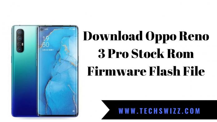 Download Oppo Reno 3 Pro Stock Rom Firmware Flash File