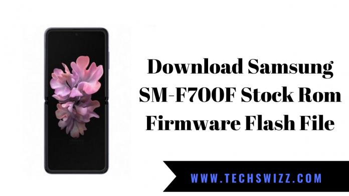 Download Samsung SM-F700F Stock Rom Firmware Flash File