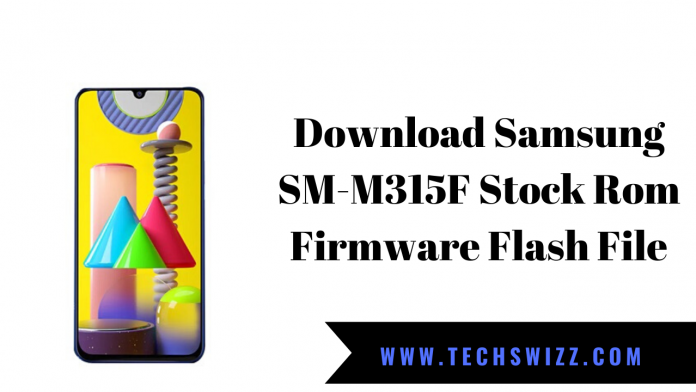 Download Samsung SM-M315F Stock Rom Firmware Flash File