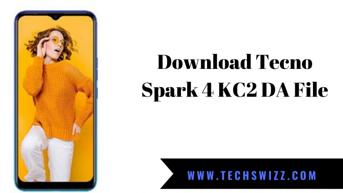 Download Tecno Spark 4 KC2 DA File