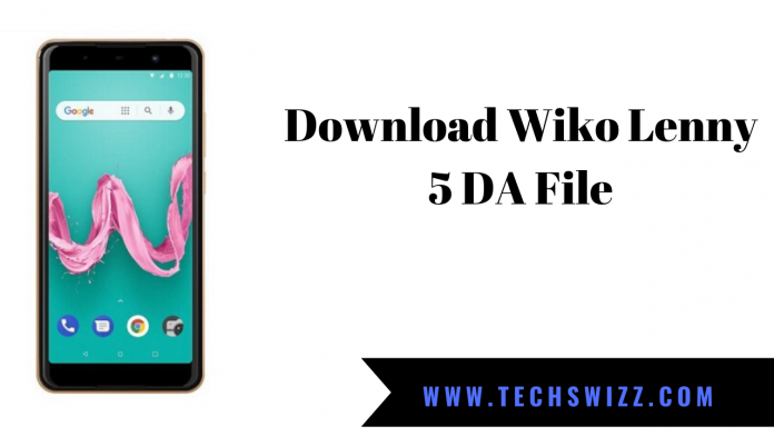 Download Wiko Lenny 5 DA File
