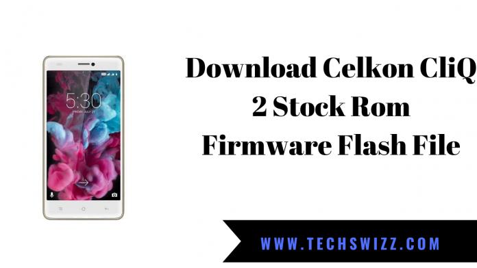 Download Celkon CliQ 2 Stock Rom Firmware Flash File