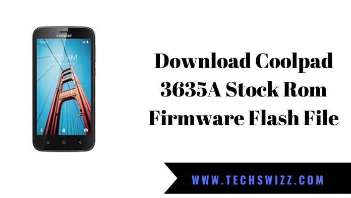 Download Coolpad 3635A Stock Rom Firmware Flash File