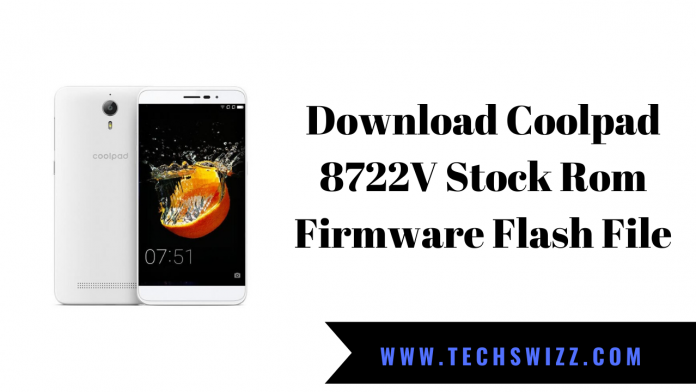Download Coolpad 8722V Stock Rom Firmware Flash File