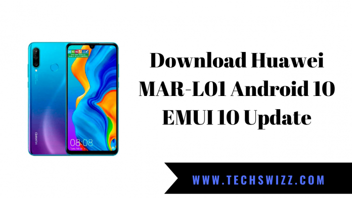 Download Huawei MAR-L01 Android 10 EMUI 10 Update