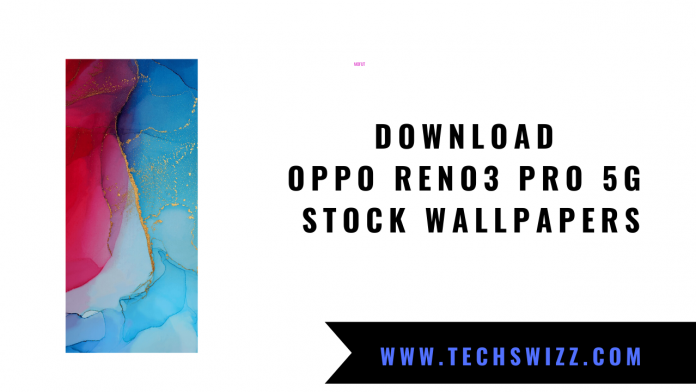 Download Oppo Reno3 Pro 5G Stock Wallpapers