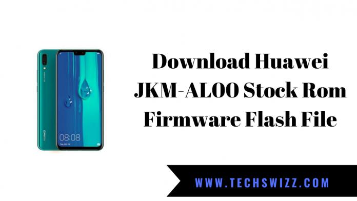 Download Huawei JKM-AL00 Stock Rom Firmware Flash File