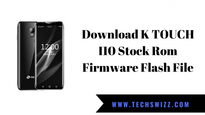 Download K TOUCH I10 Stock Rom Firmware Flash File