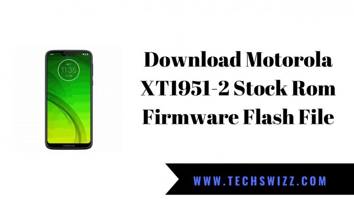 Download Motorola XT1951-2 Stock Rom Firmware Flash File
