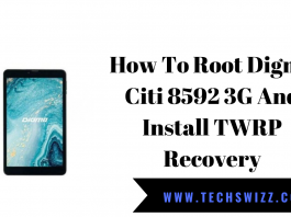How To Root Digma Citi 8592 3G And Install TWRP Recovery