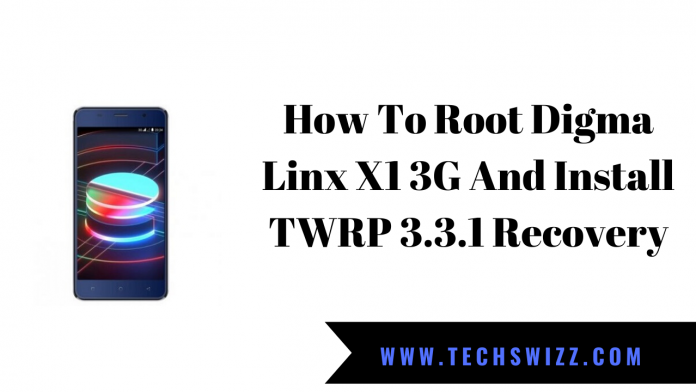 How To Root Digma Linx X1 3G And Install TWRP 3.3.1 Recovery