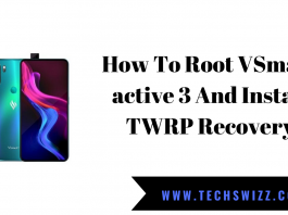 How To Root VSmart active 3 And Install TWRP Recovery