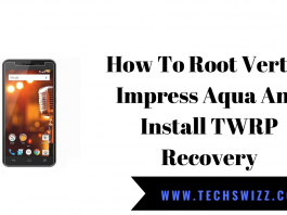 How To Root Vertex Impress Aqua And Install TWRP Recovery