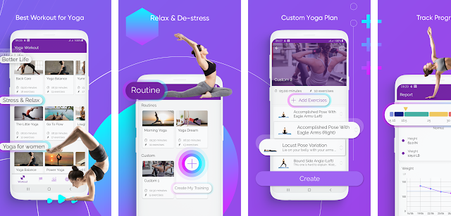 Yoga Workout - Yoga for Beginners - Daily Yoga – Apps on Google Play