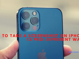 How to take a screenshot on iPhone 12 Pro