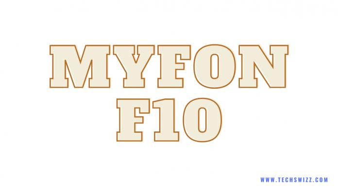 Download MYFON F10 Stock Rom Firmware Flash File