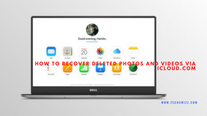 How to recover deleted photos and videos via iCloud.com