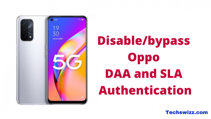 How to Disable_bypass Oppo DAA and SLA Authentication